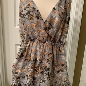 Beautiful Audrey Flowered Romper NWT's